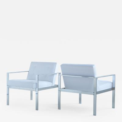 Harvey Probber PAIR OF HARVEY PROBBER LOUNGE CHAIRS