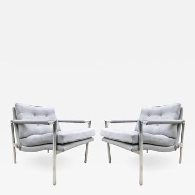 Harvey Probber Pair Lounge Chairs Manner of Harvey Probber