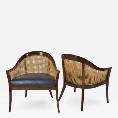 Harvey Probber Pair of Harvey Probber Armchairs