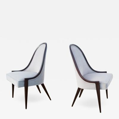 Harvey Probber Pair of Harvey Probber Gondola Chairs