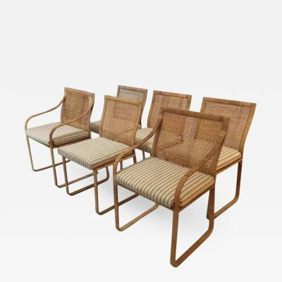 Harvey Probber Set of Six Dining Chairs by Harvey Probber