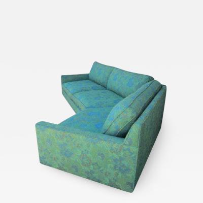 Harvey Probber Stunning 2 Piece Harvey Probber Sectional Sofa Mid century