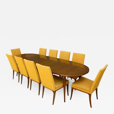 Harvey Probber Stunning Dining Set by Harvey Probber