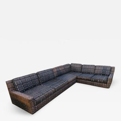Harvey Probber Stunning Signed Harvey Probber Two Piece Sectional Sofa Mid Century Modern