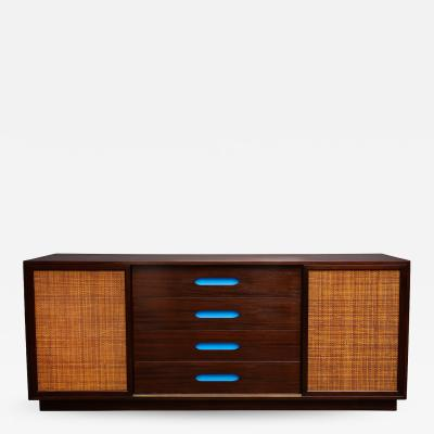 Harvey Probber Unusual Storage Cabinet by Harvey Probber