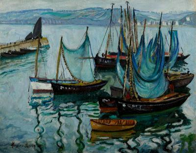 Hayley Lever Boats St Ives Harbor