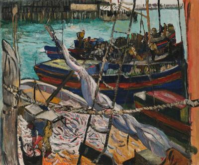 Hayley Lever Schooner and Fishing Boats