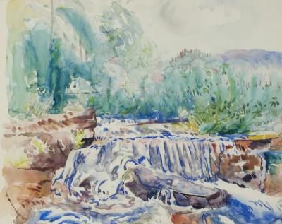 Hayley Lever Waterfall Woodstock NY