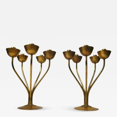 Hayno Focken Pair of Hayno Focken German Candleholders