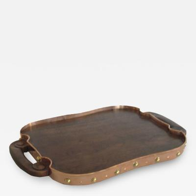 Hector Aguilar Large Hand Crafted Serving Tray by Hector Aguilar