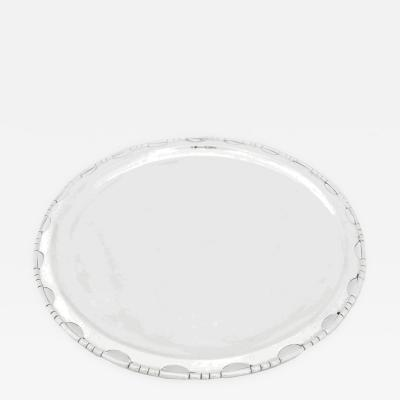 Hector Aguilar Large Silver Tray by Hector Aguilar