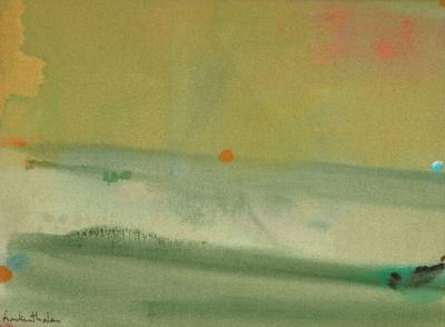 Helen Frankenthaler Untitled July 1975