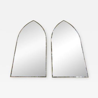 Helen Hobey Baker Stunning Pair Gothic Cathedral Shaped Mirrors Hobey Helen Baker