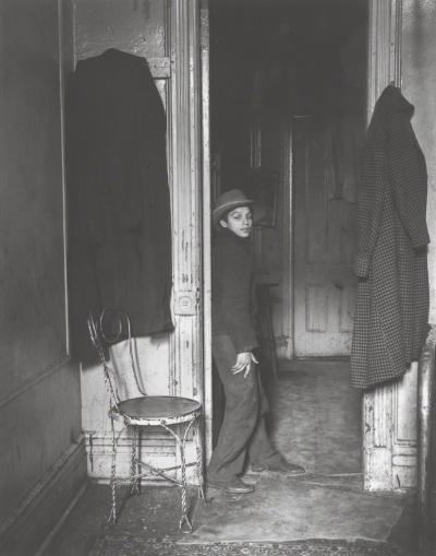 Helen Levitt Untitled Gypsy Boy New York City New York ca 1939