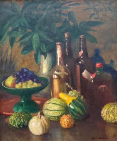 Helen Simpson Whittemore Still Life with Wine