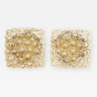 Helena Tynell Pair of Champagne Bubble Sconces by Helena Tynell