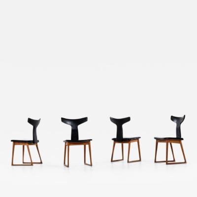 Helge Sibast Helge Sibast dining chairs