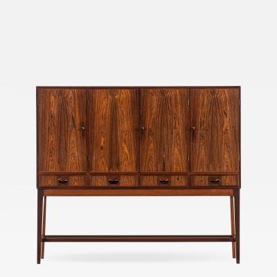 Helge Vestergaard Jensen Cabinet Produced by Cabinetmaker Peder Pedersen