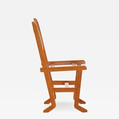 Helge Vestergaard Jensen Unique Chairs Produced by Cabinetmaker Thysen Nielsen