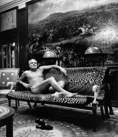 Helmut Newton Gianni Versace Lake Como Italy 1994