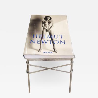 Helmut Newton Helmut Newton Sumo Book on Philippe Starck Chrome Stand