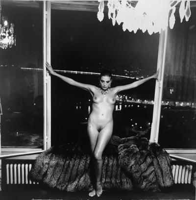 Helmut Newton Night Nude II Nice 1981