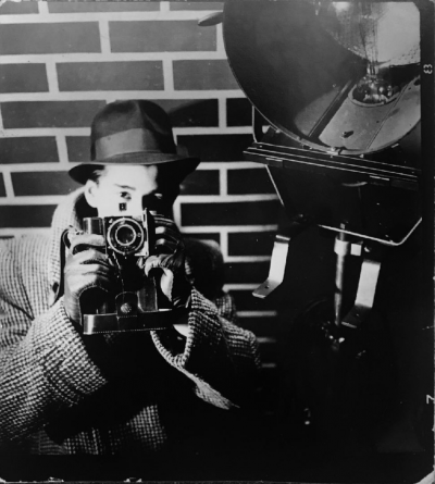 Helmut Newton Self Portrait Studio YVA Berlin 1936