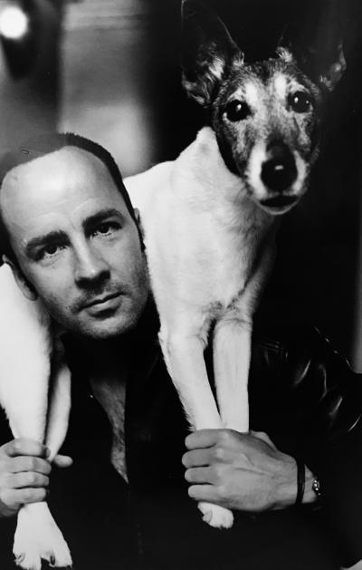 Helmut Newton Tom Ford Dog For Vogue 1999