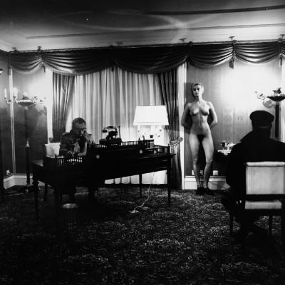 Helmut Newton Voyerism in LA Los Angeles 1989
