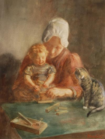 Hendrik Maarten Krabbe Mother and Child