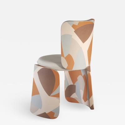 Henge sculptural Dining Chair designed by Artefatto Design Studio