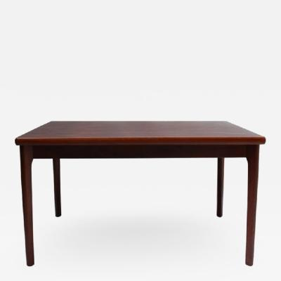 Henning Kjaernulf 1960s Danish Rosewood Extendable Dining Table by Henning Kj rnulf