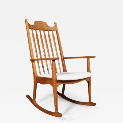 Henning Kjaernulf Henning Kj rnulf attributed Rocking chair made of oak
