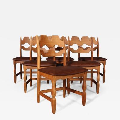 Henning Kjaernulf Henning Kjaernulf Set of six dining chairs 6