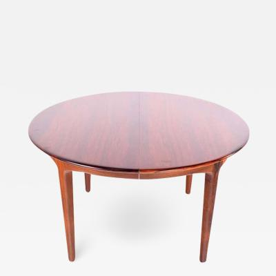 Henning Kjaernulf Large Rosewood Dining Table by Henning Kj rnulf for Soro