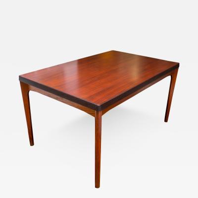 Henning Kjaernulf Rosewood Extension Dining Table by Henning Kjaernulf