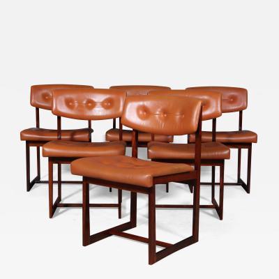Henning S rensen Henning S rensen Six dining chairs rosewood 6