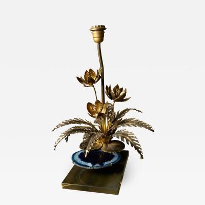 Henri Fernandez Very original table lamp by Henri Fernandez