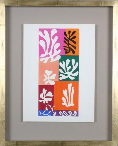 Henri Matisse Henri Matisse Colour Lithographs after the Cut Outs 1958