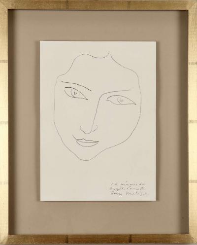 Henri Matisse Henri Matisse Portraits of Angela Lamotte