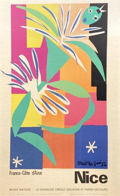 Henri Matisse La Danseuse Creole