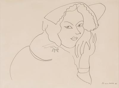 Henri Matisse Lithograph after a Henri Matisse Drawing