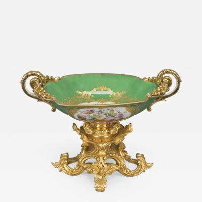 Henri Picard A S vres Style Porcelain Coupe