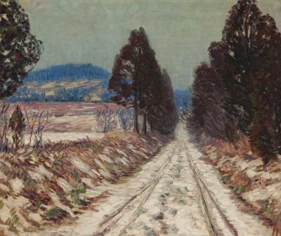 Henry Asbury Rand Winter Morning