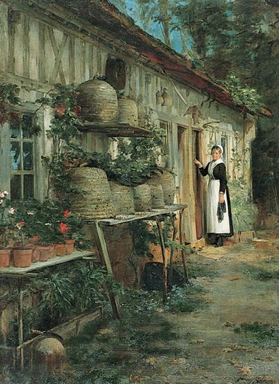 Henry Bacon The Beekeepers Daughter