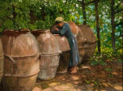 Henry Bayley Snell Olive Barrels