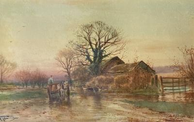 Henry Charles Fox End of the Day