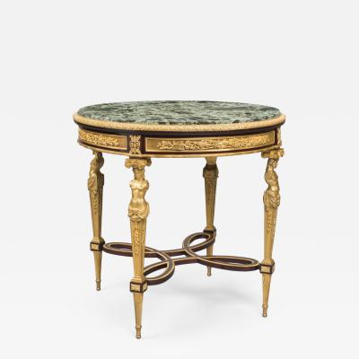 Henry Dasson A Louis XVI Style Mahogany Centre Table