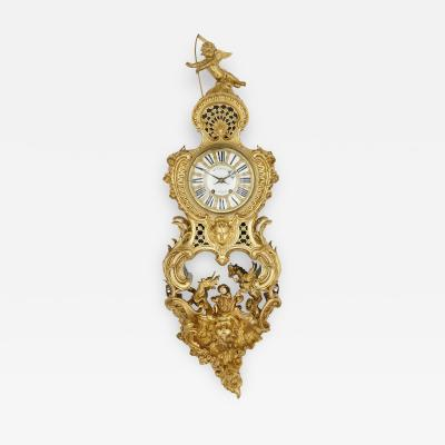Henry Dasson Antique French Belle poque Rococo Style Bracket Clock by Henry Dasson