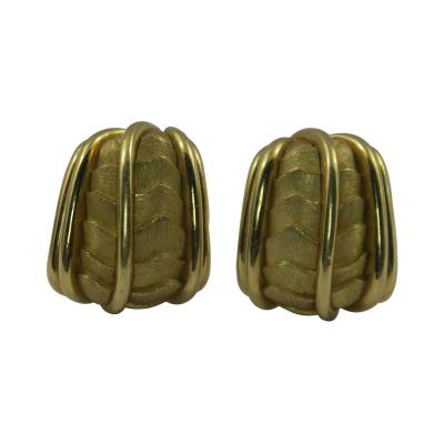 Henry Dunay Henry Dunay Organic Design Gold Earrings